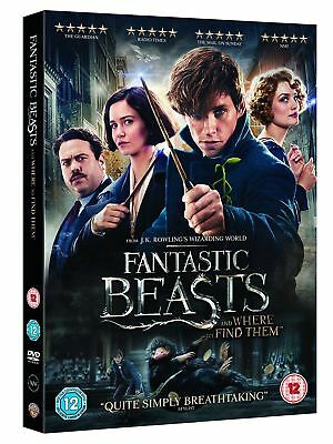 Fantastic Beasts And Where To Find Them DVD New and Sealed, Free Postage