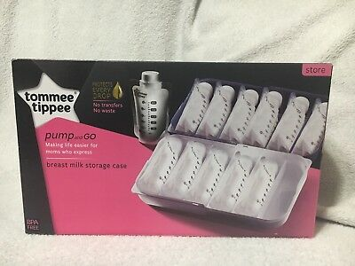 Tommee Tippee Pump And Go Breast Milk Storage Case