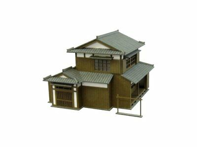 Sankei 1/150 nostalgia of the diorama series Minka B Paper Craft