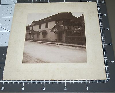 1898 St Augustine OLDEST HOUSE in US Building Downtown Florida FL Cabinet PHOTO