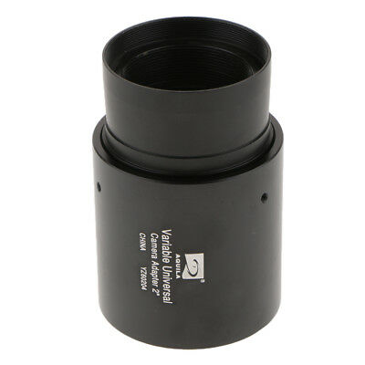 "2"" Variable Telescope Camera Adapter for Prime Focus & Eyepiece Projection"