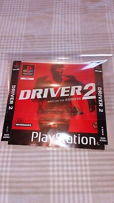 Driver 2 PlayStation Inserts Only
