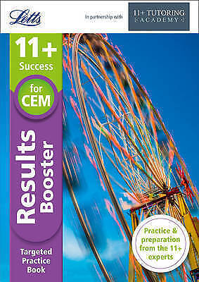 11+ Results Booster: for the CEM tests (Letts 11+ Success), New, McMahon, Philip
