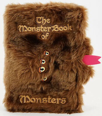 New Universal Wizarding World Of Harry Potter Monster Book Of Monsters Journal