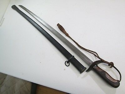 Russo Japanese Cavalry Sword With Scabbard And Tassle