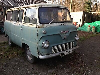 Ford 400 Crew Bus/van Project