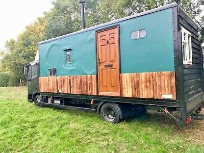 Ford Iveco Motorhome / Housebox / Off Grid / Alternative Living / Tiny House