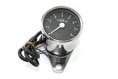 Mini 60mm Electronic Tachometer,for Harley Davidson motorcycles,by V-Twin