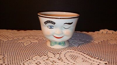 Baileys Irish Cream Ceramic 💗Open Sugar Bowl💗 1996 Limited Edition 3""