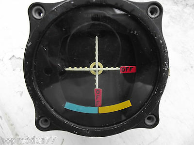 WW2 USAAF Aircraft Horizon Indicator I-101-D 1950's by SC US ARMY