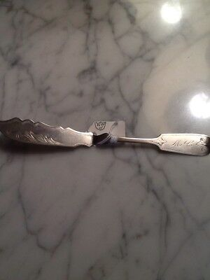 Coin Silver Butter Knife