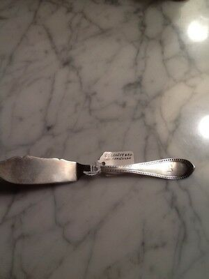 G C Shreve San Francisco Coin Silver Butter Knife