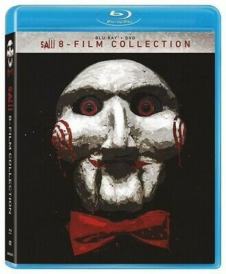 Saw - 8-film Collection [New Blu-ray] Boxed Set, Dolby, Subtitled, Widescreen,