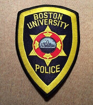 MA Boston University Massachusetts Police Patch