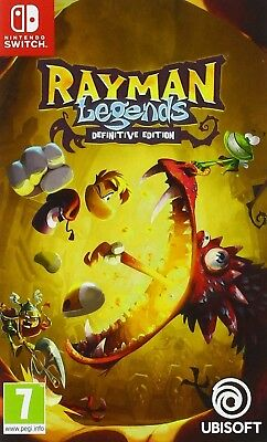 Rayman Legends - Definitive Edition (version française) - Nintendo Switch Noel