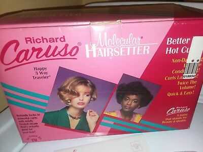 Richard Caruso Molecular Hairsetter Steam Rollers Set