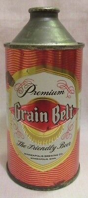 Vintage Grain Belt Beer Six Pack Cone Top Can