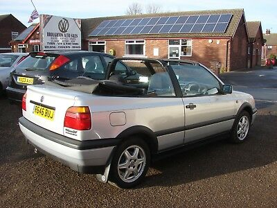 Mk 3 Golf Cabriolet Only 2 Owner's Low Miles Long Test Great Shape