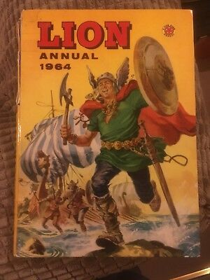 LION ANNUAL 1964 *** Unclipped ***