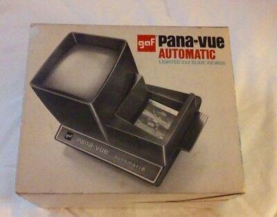 Gaf Pana- Vue Automatic 2x2 Slide Viewer for parts or repair