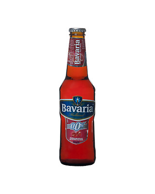 Bavaria Pomegranate 0.0% Beer Other Drinks 330mL case of 24
