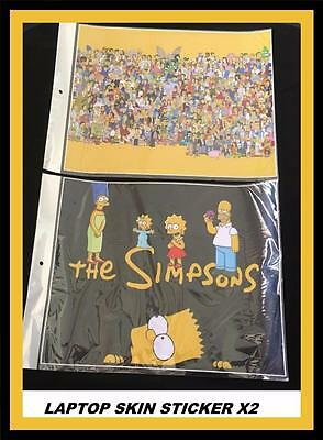 *Laptop Skin Sticker- The Simpsons High Quality* X 2