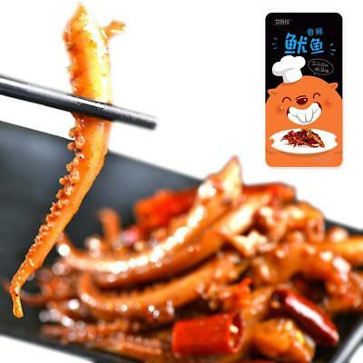 14g Chinese Delicious BBQ Squid  Spicy Strips Snack Food Free Shipping