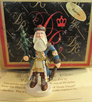Duncan Royale RUSSIAN History of Santa Claus Pewter Miniature w/ Box & COA