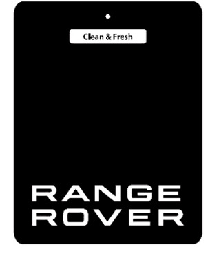Range Rover, Land Rover Car Logo Air Freshener Double Sided (buy 3 get 1 free )