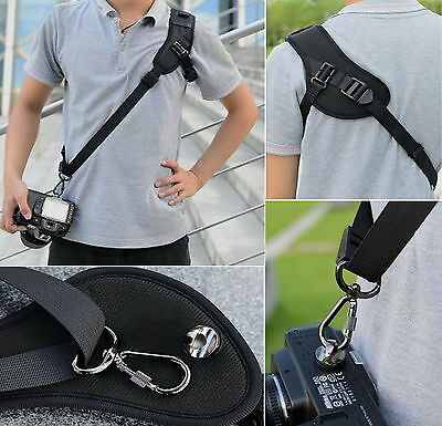 Quick Camera Neck Shoulder Strap Belt Sling for Canon Nikon Fuji Samsung Sony