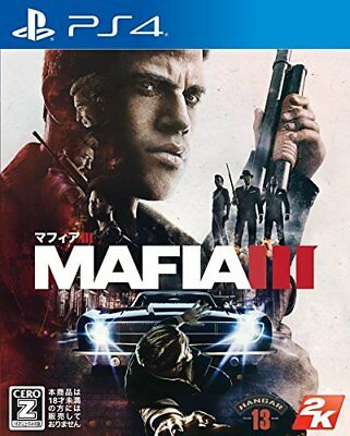 PS4 Mafia III NEW Japan Import