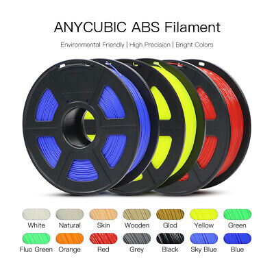 Anycubic 3D Printer ABS Filament 1kg/roll 10+ Colours Aussie High Quanlity Kit