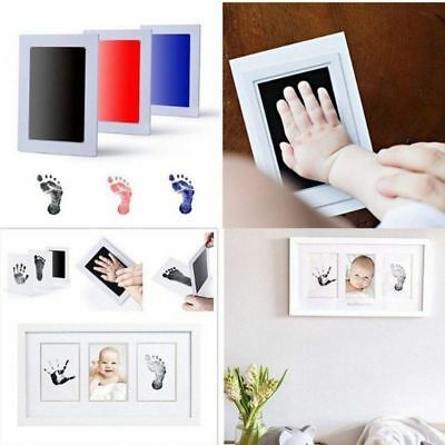 Baby Paw Print Pad Foot Photo Frame Touch Ink Pad Baby Items Souvenir Gift 2019!