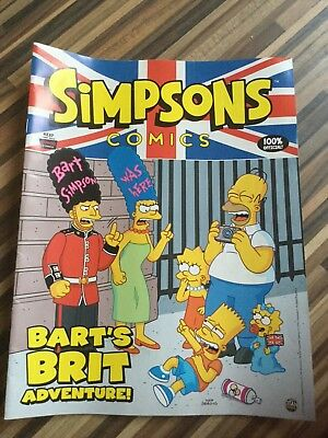 Simpsons Comics # 237 Near Mint (NM) Bongo Comics MODERN AGE