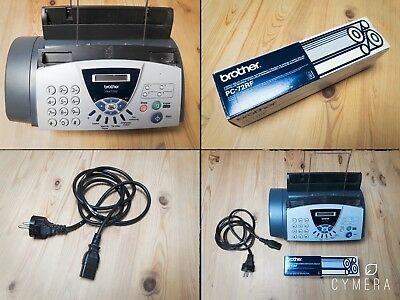 BROTHER FAX T120 / Sehr guter Funktionszustand / inkl. Neuer FaxRolle / TOP