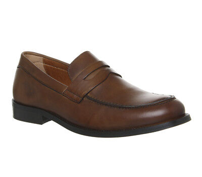 Mens Office Office Classics Loafers Tan Leather Formal Shoes