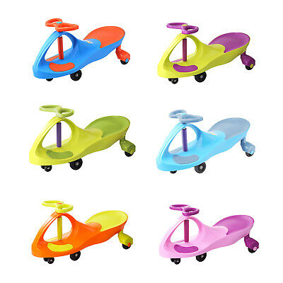 Twist Car Wiggle Toy Swivel Scooter For Kids Ride On Swing