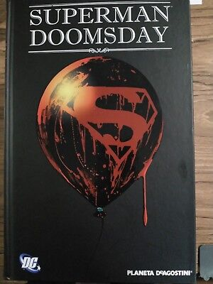 SUPERMAN Doomsday ABSOLUTE ed.Planeta de Agostini