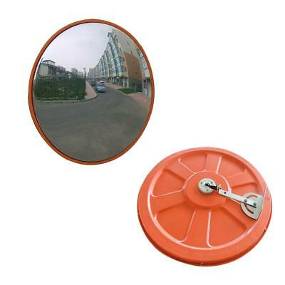 45CM Wide Angle Security Curved Convex Road Safety Traffic Mirror Driveway
