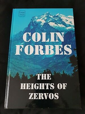 The Heights of Zervos (Large Print Edition) by Forbes, Colin Hardback Book The