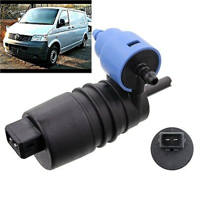 XtremeAuto/® Front Rear Windscreen Washer Pump Transporter T4 Caravelle Rear wiper Screen Wash