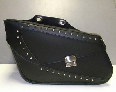 Leroy Satteltaschen 100% Original Kuhfell Leather-Held Germany Motorcycle