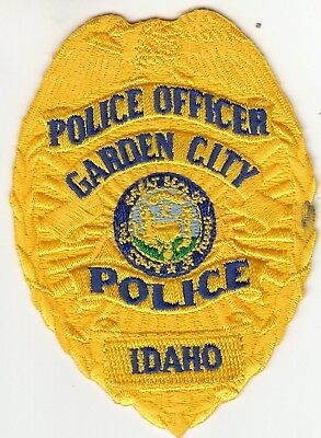 Garden City Police Officer Patch Idaho Id