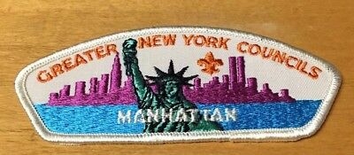"""Boy Scouts Greater New York Councils """"Manhattan""""  Csp Patch New"""
