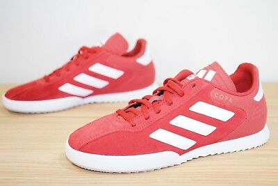 fc0d505d7013c7 Adidas Copa Super Suede Kids Trainers Football Size UK 3   EU 35.5 Red (AAM