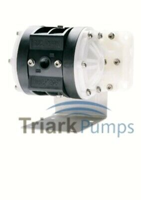 "1/4"" Graco Husky 205 / AT06/VA06 Air Diaphragm Pump (Poly/PTFE) - D12091"