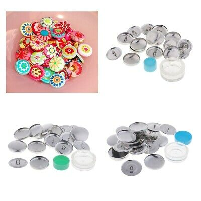 Creative DIY Fabric Covered Shank Button Kit Crafts Tools Pusher Project Z