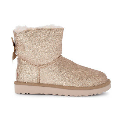 UGG MINI Bailey Bow Sparkle 1100053 W Blk EUR 209,00