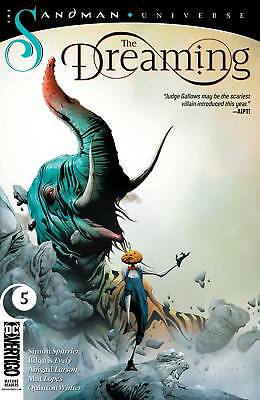The Dreaming #5 Main Cover -- DC Comics 2019, Sandman Universe