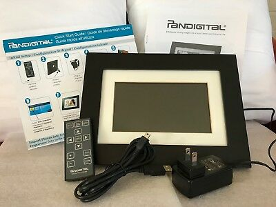 "PANDIGITAL Multimedia 7"" LCD Digital Picture Photo Frame"